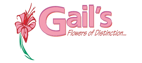 Gail's Flowers of Distinction Logo